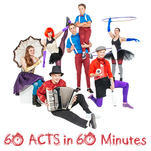 60 Acts in 60 Minutes